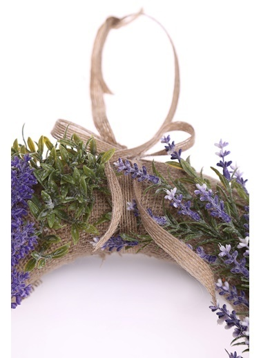 Kibrithane Çiçek Kapı Süsü Yapay Lavanta Aranjman Kc00200825 Renkli